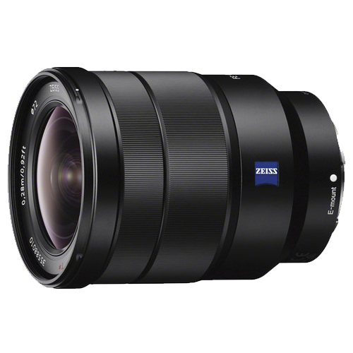 Image of Sony E-Mount wide angle 16-35mm F4 Lens