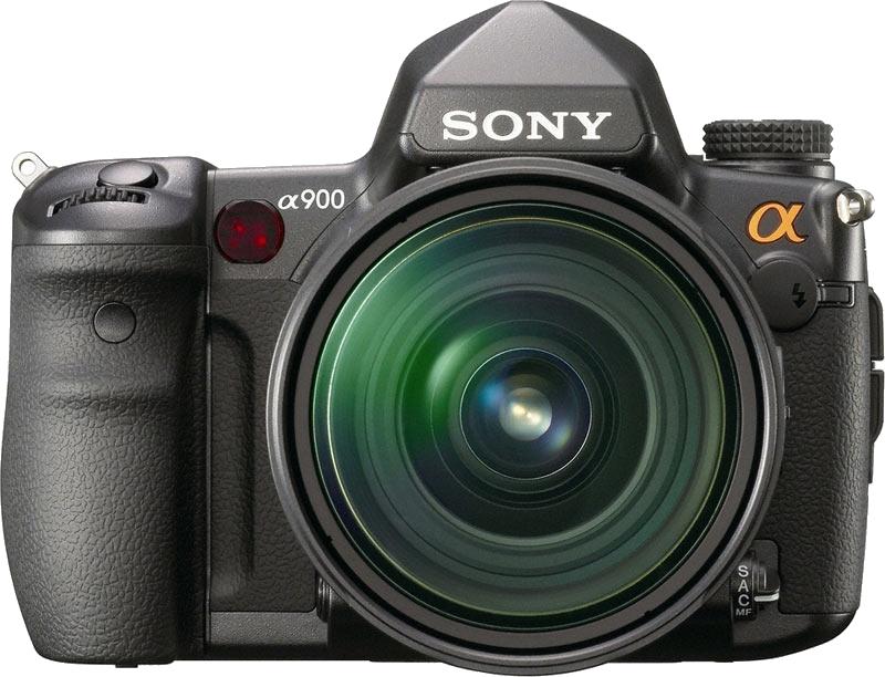 Image of Sony A-900 DSLR Camera