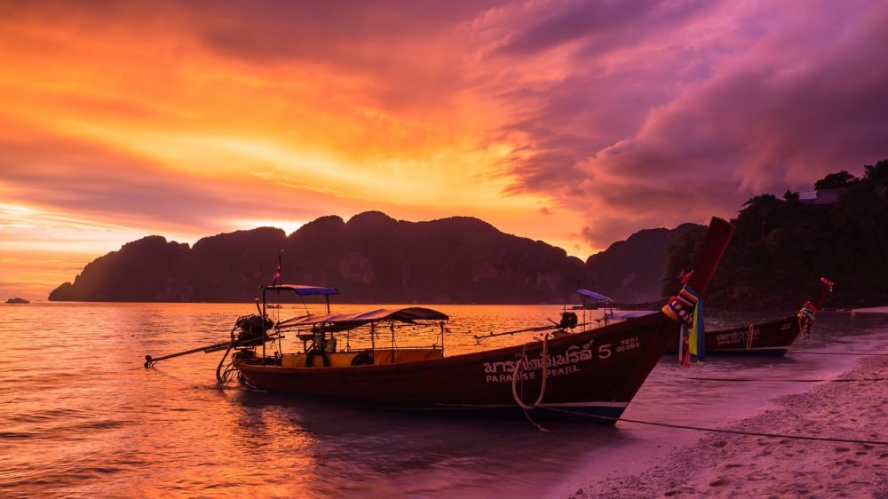 Ko Phi Phi Sunset-2×1